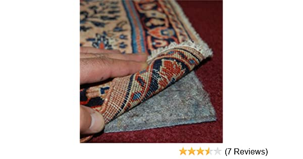 Amazon.com: 9'x12' No-Muv Non Slip Rug on Carpet Pad - Includes Rug and Pad Care Guide: Kitchen & Dining