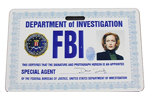 Dana Scully Costumes - X-Files Scully ID