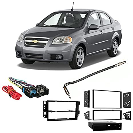 Amazon Fits Chevy Aveo Sedan 2007 2008 Singledouble Din