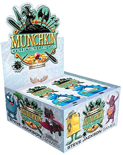 2018 Munchkin Booster Box TCG CCG Collectible Card Game Season 1
