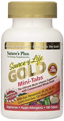 Nature's Plus - Source of Life GOLD Mini-Tabs, 180 count