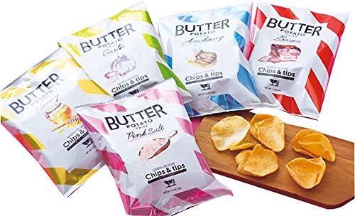 Chips&tips チップス&ティップス 米粉 ポテトチップス 厚切り 5種類セット 梅田 大丸 ポテチ