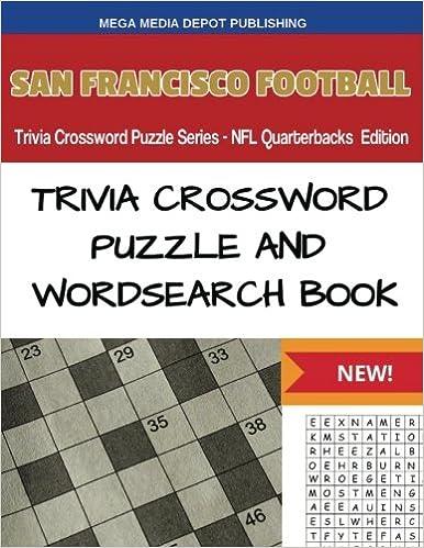 Book San Francisco Football Trivia Crossword Puzzle Series - NFL Quarterbacks Edition