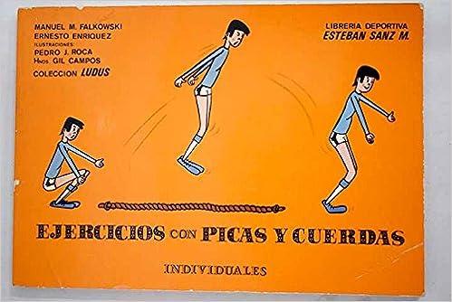 Ejercicios individuales con picasy cuerdas: Amazon.es ...