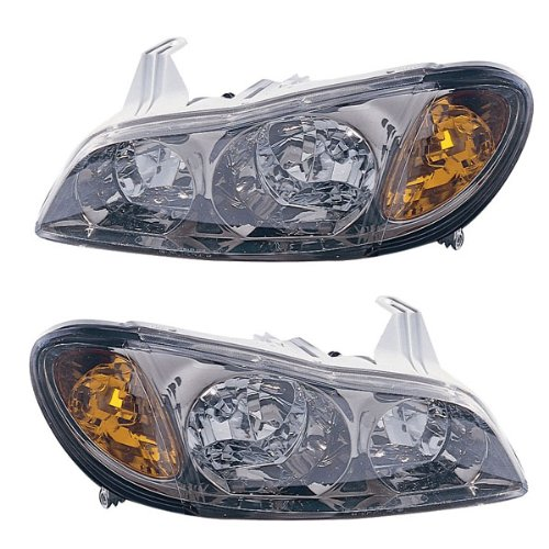 2000-2001 Infiniti I-30 I30 (with Touring Package) Headlight Headlamp Composite Halogen (Non-Xenon without HID) Front Head Light Lamp Set Pair Left Driver And Right Passenger Side (00 (Infiniti I30 Headlamp)