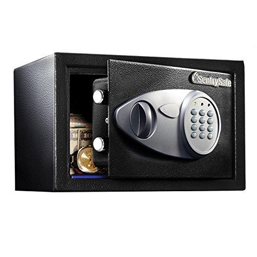 SentrySafe Caja de seguridad, 11.3 L, Negro