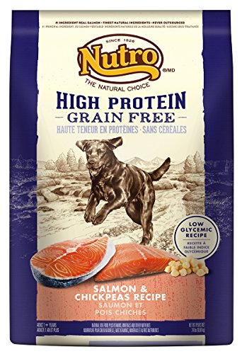 Nutro Salmon And Chickpeas High Protein Grain Free Dog Food, 24 Lbs.
