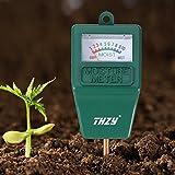 Moisture Meter,THZY Indoor/Outdoor Moisture Sensor Meter,soil water monitor, Hydrometer for gardening, farming
