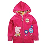 Product review for Novatx Peppa Pig Beautiful Girl's Kid's Hoody Sweater Jacket 1-6Y