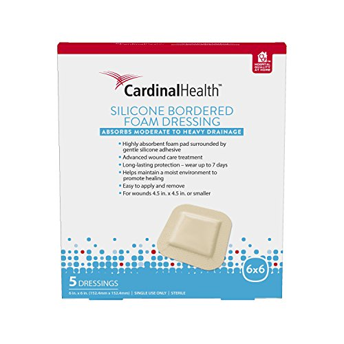 cardinal-health-silicone-bordered-foam-6in-x-6in
