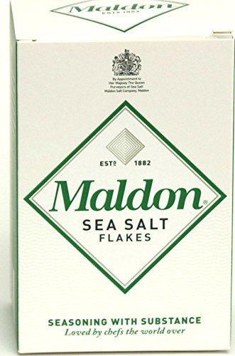 Maldon Sea Salt - Flaky Pyramid-Shaped Cystals by Salt Traders