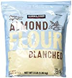 Kirkland Signature fgdg Almond Flour Blanched California Superfine, 3 Pounds - 2 Pack