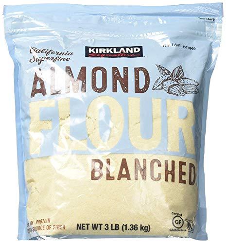 Kirkland Signature Almond Flour Blanched California Superfine, 3 Pounds - 2 Pack by Kirkland Signature (Image #1)