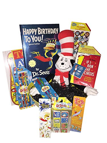 Dr. Seuss Cat in the Hat Ultimate Learning is Fun Gift Baske
