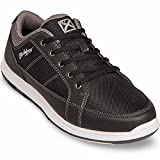 KR Strikeforce Bowling Shoes Mens Spartan Bowling Shoes- M US, Black/Charcoal, 11 For Sale