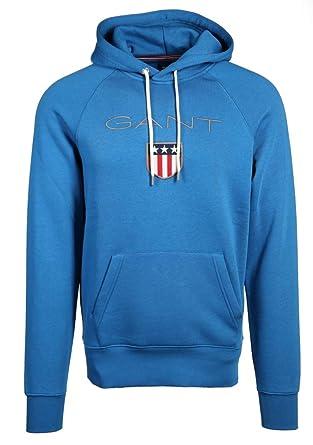 GANT Herren Kapuzensweatshirt Shield Sweat Hoodie: