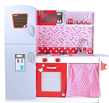 La mejor cocina para niños W10C037 - DELUXE de cocina con nevera ...