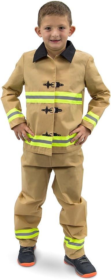 Disfraz de Bombero infeliz para niños de Halloween – Traje de ...