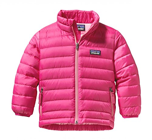 Patagonia Baby Girls' Down Sweater (Baby) - Radiant Magenta - 3 Months