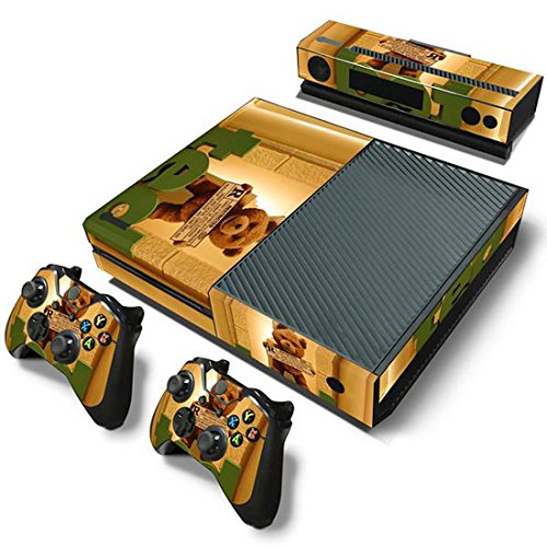 Price comparison product image Mod Freakz Console and Controller Vinyl Skin Set - Teddy Bear Ted R for Xbox One