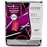 Knitter's Pride Cubics Platina Deluxe Interchangeable Needle Set