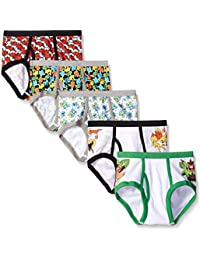 Little Boys' Pokemon Brief (Pack Of 5)