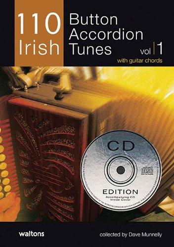 (110 Irish Button Accordion Tunes: with Guitar)