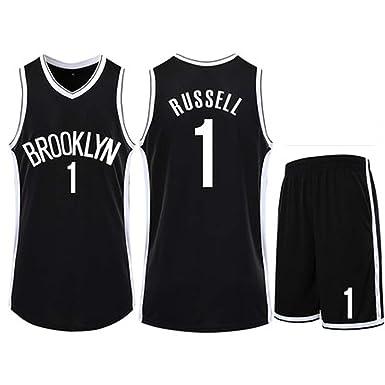Camiseta de Baloncesto para Hombre Brooklyn Nets, 11# 99# 12# 6# 1 ...