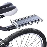 BEESCLOVER Mountain Bike Bicycle Quick Release Tail Stock Seat Post Pannier Rear Cargo Rack Newest as Picture Show One Size