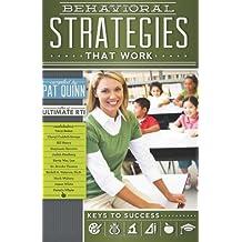 Behavioral Strategies that Work