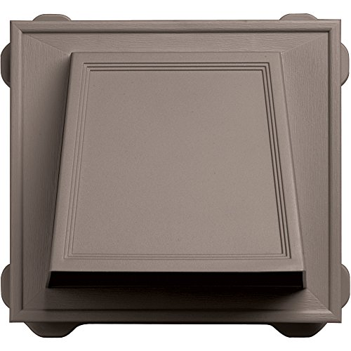 Builders Edge 140056774008 Vent, Clay ()