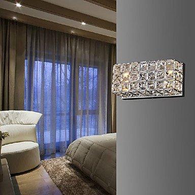 in vendita DXZMBDM® cristallo applique da parete quadrato processo di elettrodeposizione elettrodeposizione elettrodeposizione 220-240v  da non perdere!