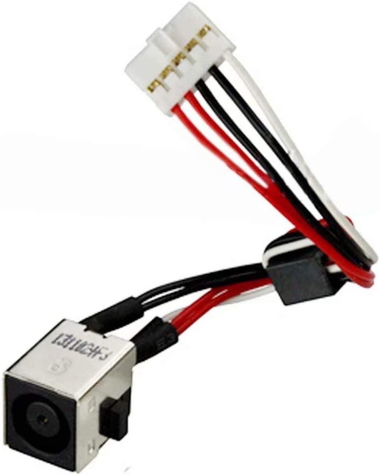 for Dell Inspiron 15R-5520 15R-7520 DC Power Jack w//Cable WX67P 0WX67P