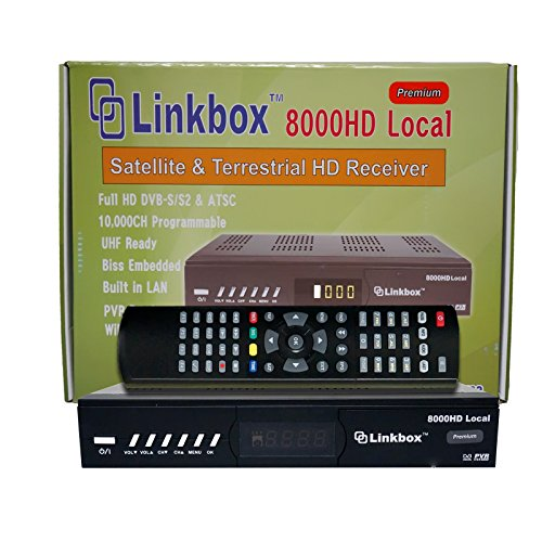 Linkbox 8000 HD Local Premium FTA Satellite & Terrestrial HD Receiver
