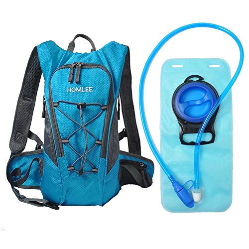 af7bb449a523 Hydration Pack Recreational Backpack with 2L BPA Free Water Bladder Bag  Lightweight Outdoor Products Tactical Survival Reservoir for Marathon  Hiking Camping ...