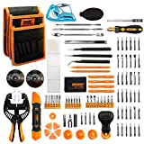 Jakemy Screwdriver Set, 99 in 1 with 50 Magnetic Precision...