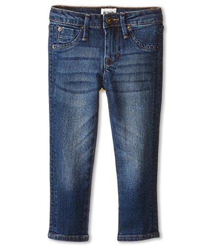 HUDSON Kids Girl's Collin Skinny with Back Flap Pocket in Hippie Sky (Toddler/Little Kids) Hippie Sky Jeans 5 Little (Hudson Back Flap)