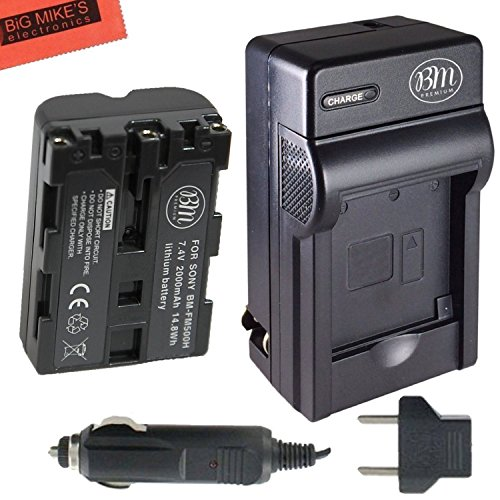 NP-FM500H Battery & Charger Kit for Sony Alpha SLT-A57 for sale  Delivered anywhere in Canada