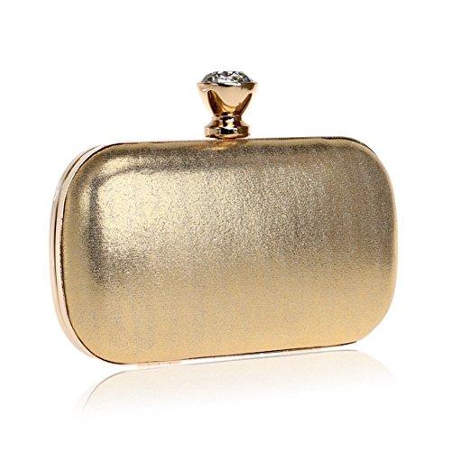 Evening Fly Wedding Black Ladies Bride Bag bag Gold Bag Color Wild evening Fashion Bag Clutch Evening wwUTzS