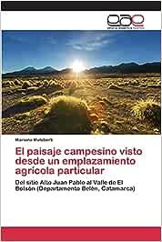 El paisaje campesino visto desde un emplazamiento agrícola particular: Del sitio Alto Juan Pablo al Valle de El Bolsón (Departamento Belén, Catamarca)