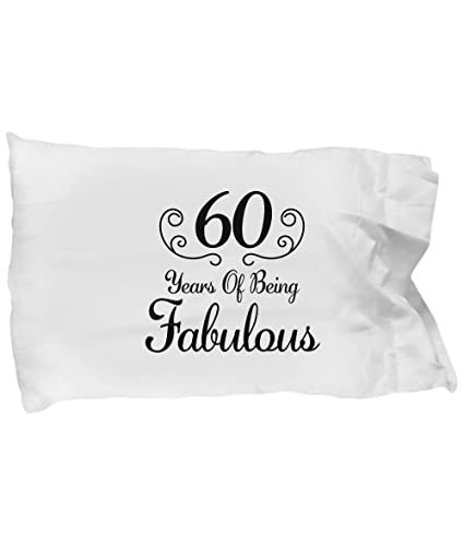 DesiDD 60th Birthday Gift For Women Born In 1958 Pillow Case