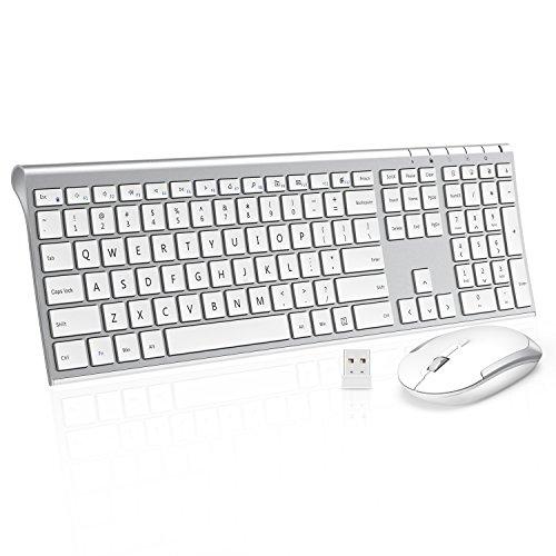 Wireless Keyboard Mouse Jelly