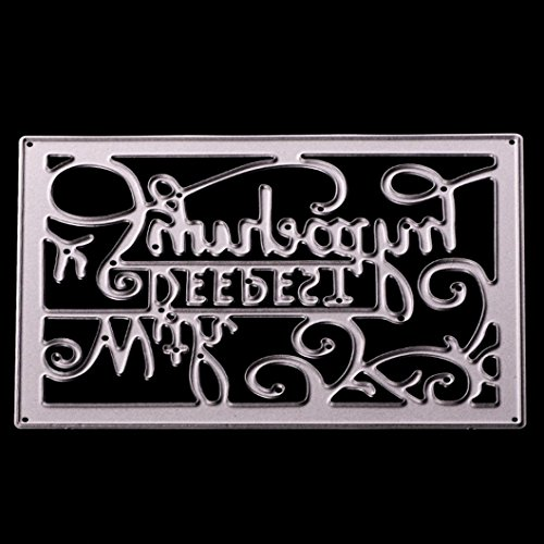 Metal Cutting Dies Stencil Scrapbooking Photo Paper Cards Crafts Embossing DIY by Topunder R -