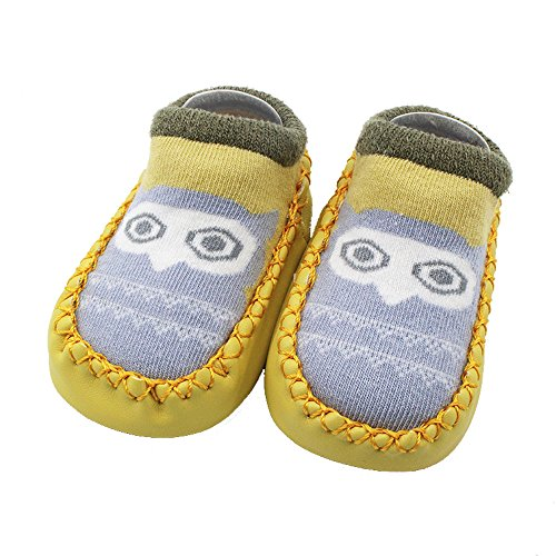 SMALLE ◕‿◕ Clearance,Cartoon Newborn Baby Girls Boys Anti-Slip Socks Slipper Shoes Boots