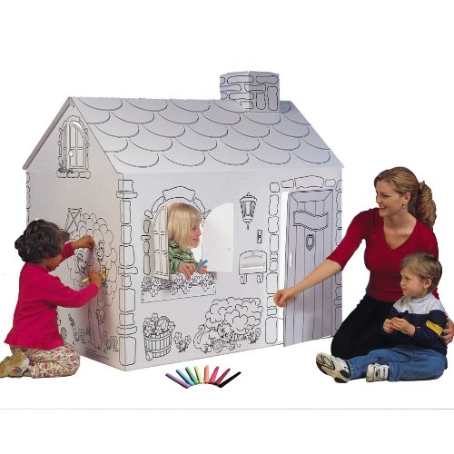 My Very Own House Coloring Playhouse, -