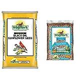 Wagner's 76027 Black Oil Sunflower Wild Bird