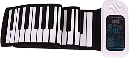 Pianos Teclados Laminado a Mano Midi Plegable Bluetooth ...
