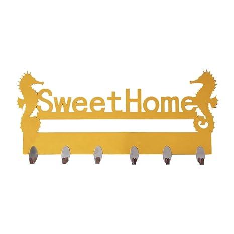 Walkretynbe - Perchero de pared para colgar ropa, accesorios ...