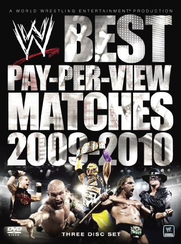 Wwe 2009-2010 Best Pay Per View Matches