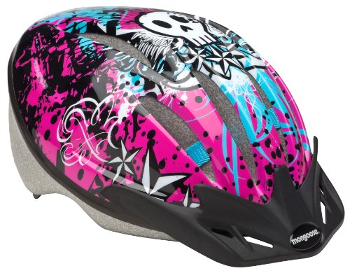 Mongoose Razor Kid's Microshell Helmet, Model MG76424-2 Review